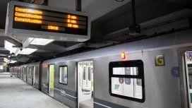La línea C reanudó hoy su servicio tras dos semanas de obras