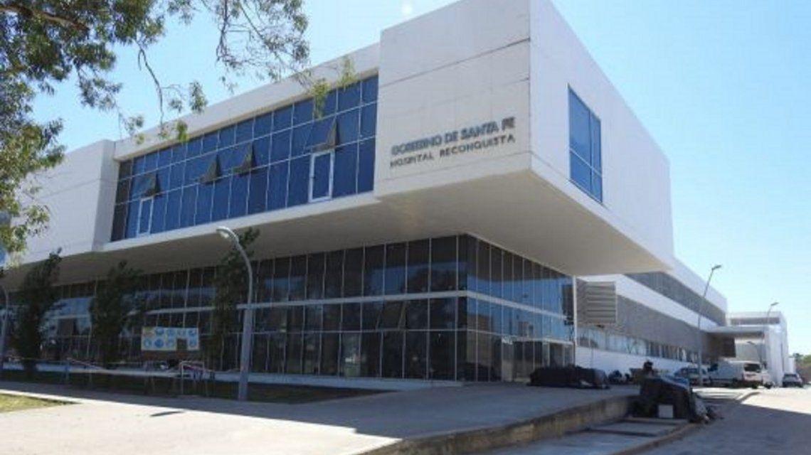 Hospital de Reconquista donde nación el bebé
