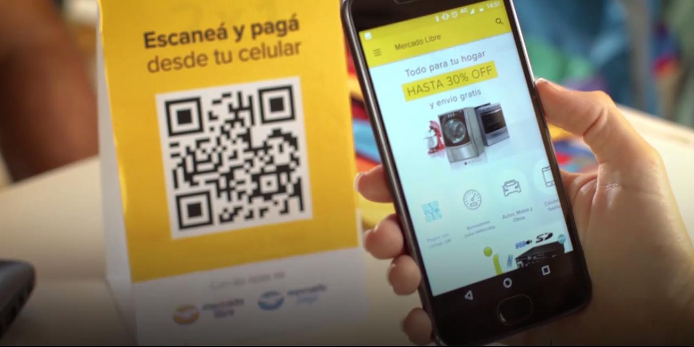 Mercado Libre agrega la posibilidad de hacer pagos en el mundo físico con códigos QR
