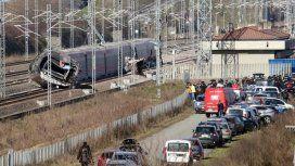 El tren recorría el trayecto Milán-Salerno. Foto: Sky tg24