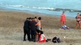 ¿Qué mierda hice?: así detuvieron a la pareja que enterró a su hija para meterse al mar