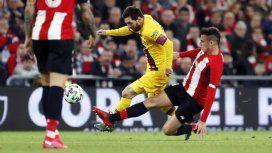 Messi quedó afuera de la Copa del Rey con el Barcelona