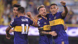 Boca le ganó a Atlético de Tucumán y alcanzó a River en la punta de la Superliga