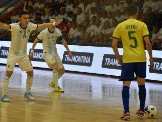 argentina se consagro campeon de las eliminatorias sudamericanas de futsal