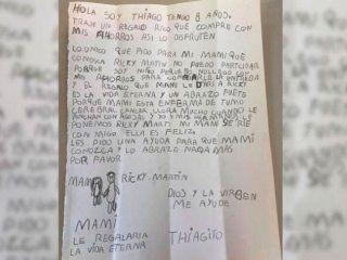 la conmovedora carta de un nene de 8 anos para cumplirle el sueno a su mama con cancer