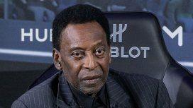 Pelé está deprimido y con problemas de movilidad