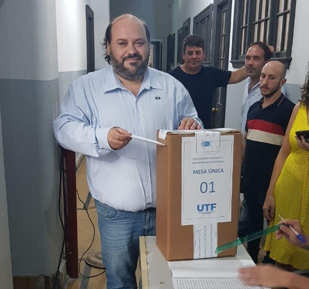 Ferroviarios eligieron a las nuevas autoridades de la UTF