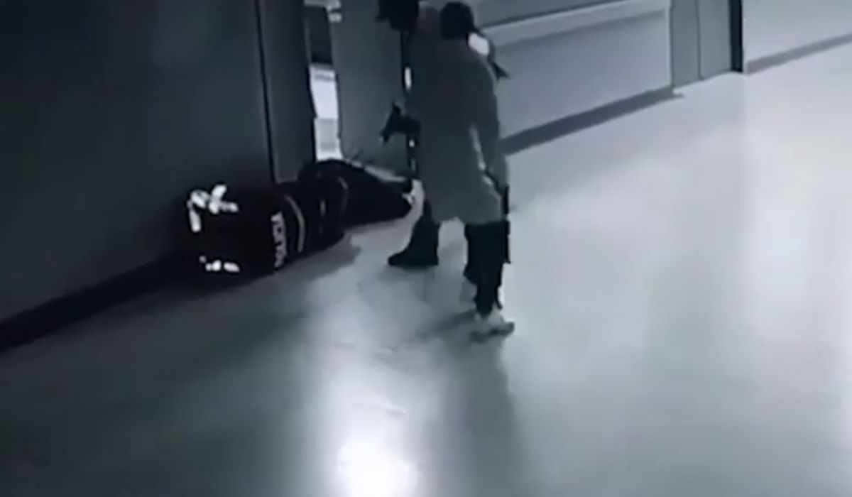 VIDEO: Entraron a un hospital vestidos de enfermeros y mataron a un preso