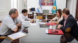 Cumbre entre Kicillof y los ministros Frederic y Berni para coordinar la agenda de seguridad