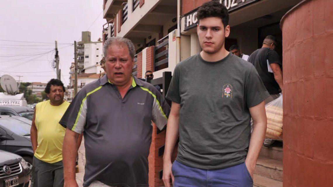 Pablo Ventura y su papá