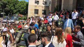 Evacuaron los Tribunales de Comodoro Py por un principio de incendio
