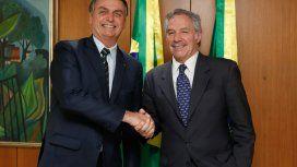 Bolsonaro le propuso a Alberto reunirse el 1° de marzo en Montevideo