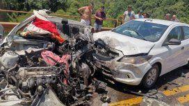 Triple choque en la Ruta 12: al menos tres muertos y siete heridos