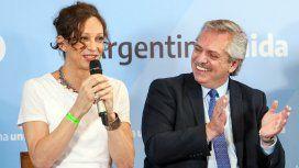 Isha Escribano y Alberto Fernández
