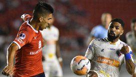Independiente viaja a Brasil para hacer valer el gol que marcó Leandro Fernández