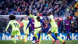 Barcelona ganó con lo justo y comparte la punta con Real Madrid