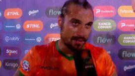 Volvió Dani Stone: Osvaldo casi le hace un golazo a River y les respondió a los hinchas