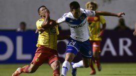 Vélez sufrió en la altura de Quito ante Aucas