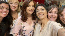 El festejo íntimo de Cristina Kirchner con Máximo, Alberto Fernández y Fabiola Yáñez