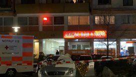 Alemania: atacaron a tiros un bar árabe y hay al menos ocho muertos