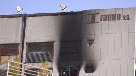 Un menor herido por el incendio en un edificio en el microcentro