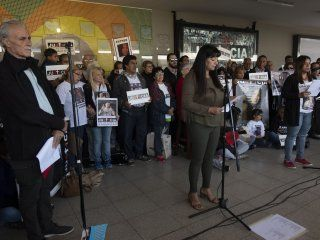 los familiares de las victimas realizaron un acto a ocho anos de la tragedia de once