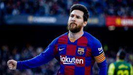 VIDEO: Los cuatro goles de Messi para el Barcelona en la victoria ante el Eibar