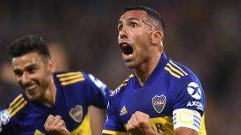 Carlos Tevez y Eduardo Toto Salvio marcaron los goles del Xeneize