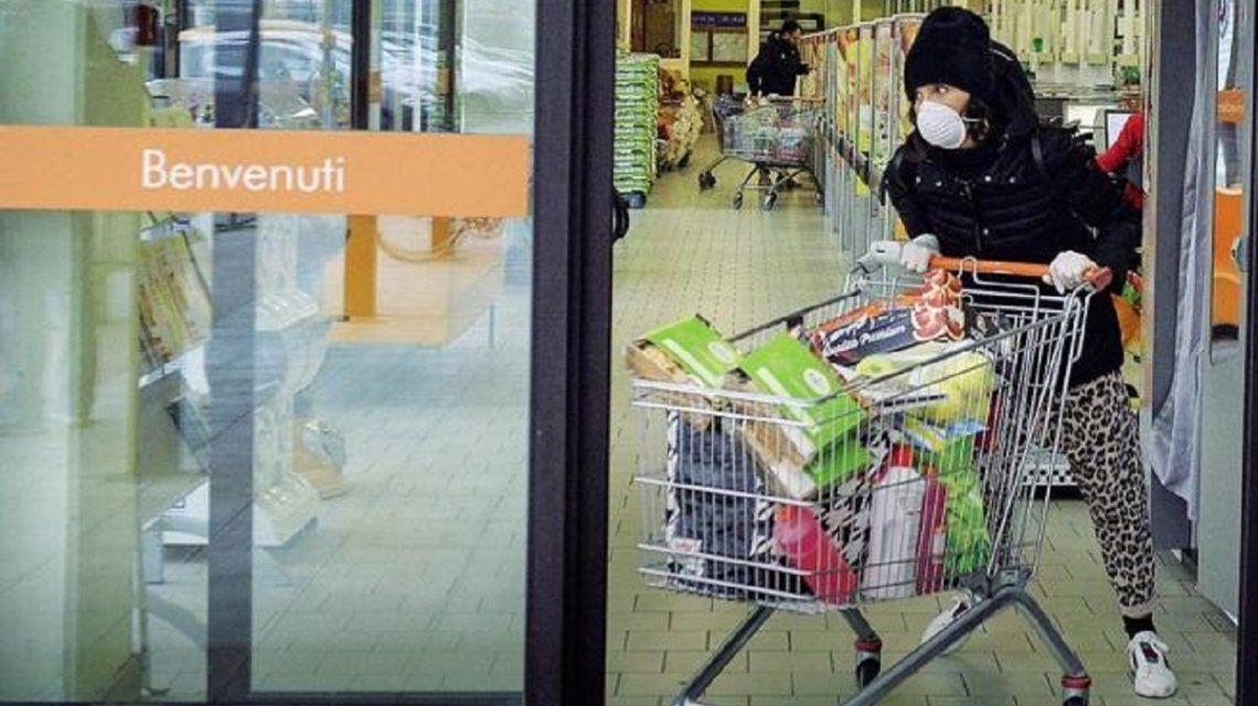 Italia: ascienden a cinco los muertos por coronavirus