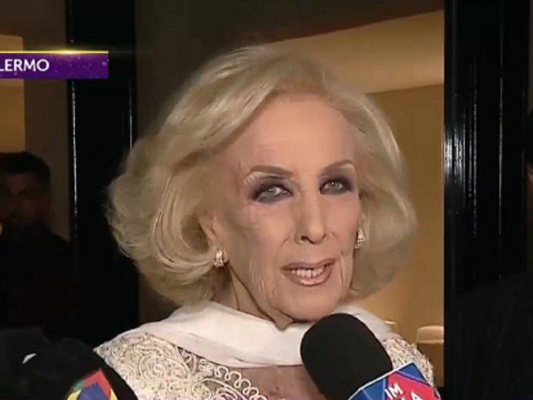 El triste cumpleaños de Mirtha Legrand por la muerte de Sofía Neiman