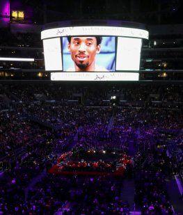 Streaming en vivo: el funeral de Los Angeles Lakers para Kobe Bryant y su hija Gianna