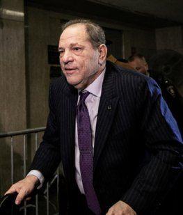 Condenaron Harvey Weinstein por violación: podrían darle hasta 25 años