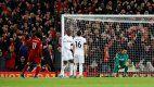 Liverpool se lo dio vuelta a West Ham y sumó 18 victorias al hilo