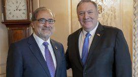 El secretario de Estado norteamericano piensa en una cumbre de Alberto Fernández y Trump
