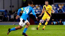 Sergio Busquets generó el gol del empate