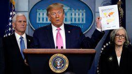 Coronavirus:  Trump dijo que están desarrollando una vacuna