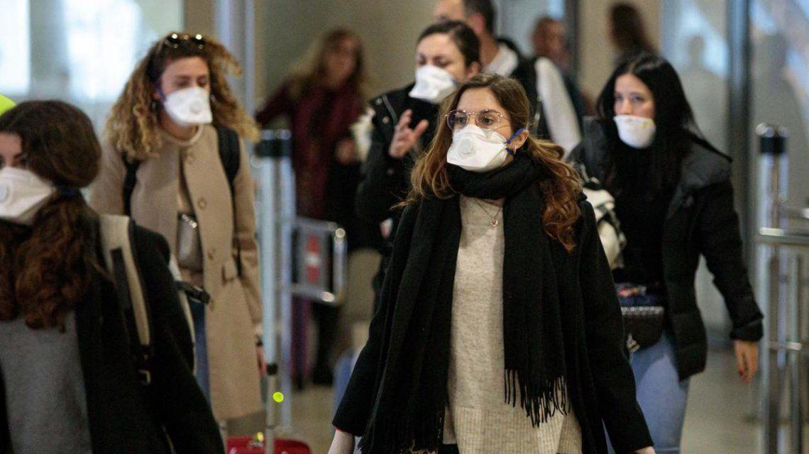 Por el brote de coronavirus en el mundo