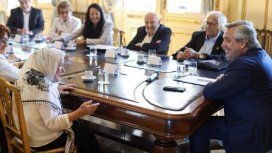 Alberto Fernández se reunió con organismo de derechos humanos