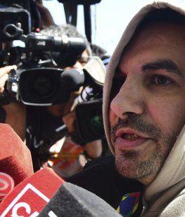 Restricción perimetral: Fabian Tablado no puede acercarse a su ex mujer ni a sus hijas
