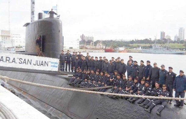 Tripulantes del ARA San Juan