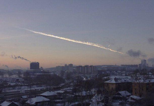El asteroide de Cheliábinsk impactó el 15 de febrero de 2013 en la ciudad homónima, en Rusia