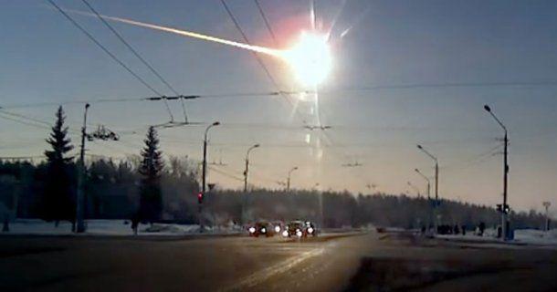 El asteroide de Cheliábinsk pudo verse desde varios puntos de la ciudad rusa