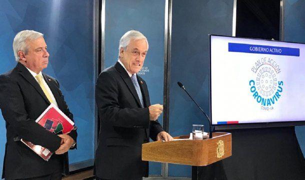 Primer caso de coronavirus en Chile - @ministeriosalud