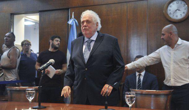 Ginés González García, ministro de Salud, el día del anuncio del primer caso de coronavirus en Argentina