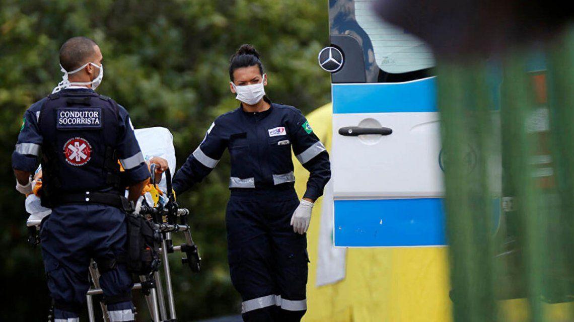 Coronavirus en Brasil: 1.222 casos y 72 muertos en 24 horas
