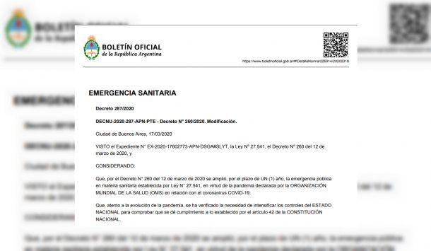 El falso Boletín sobre cuarentena por coronavirus circuló en redes y WhatsApp
