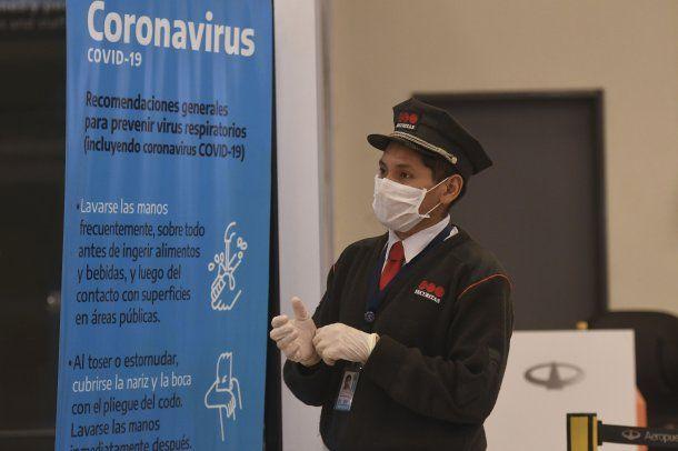 Se intensificaron los controles en Ezeiza por la pandemia de coronavirus