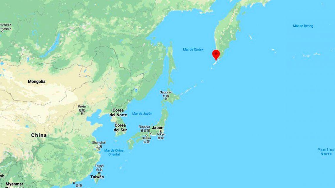 Alerta de tsunami por un terremoto en las Islas Kuriles