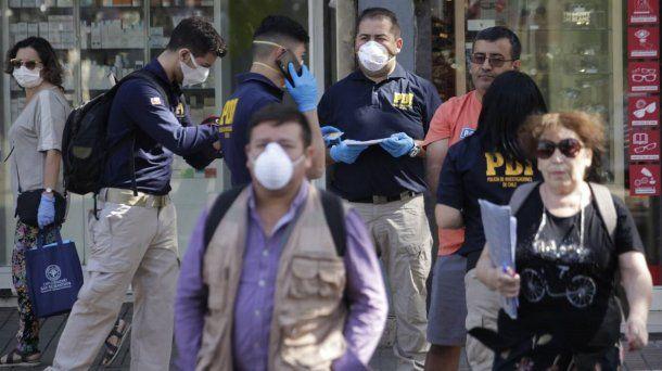 En Chile murieron tres personas por Coronavirus Covid-19