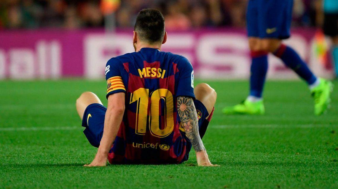 Coronavirus: el mensaje de Lionel Messi a los médicos